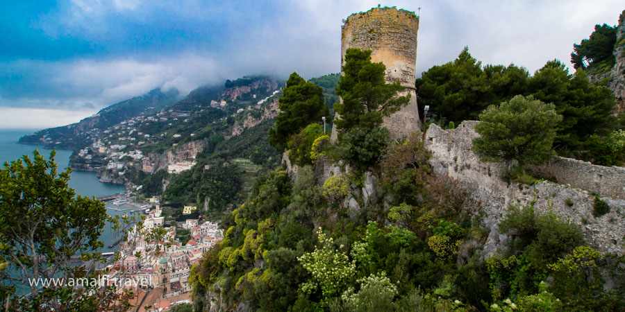 Ziro tower overlooking the Amalfi Coast, Italy